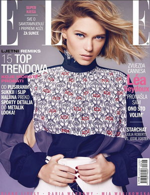 Thank You Elle Magazine Croatia, featuring #mimiplange