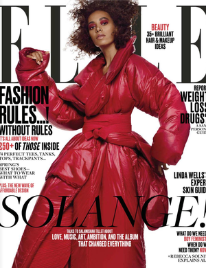 Thank You Elle Magazine, featuring #mimiplange