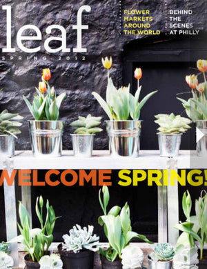 Thank You Leaf Magazine, featuring #mimiplange