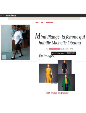 Thank You Madame Figaro, featuring #mimiplange