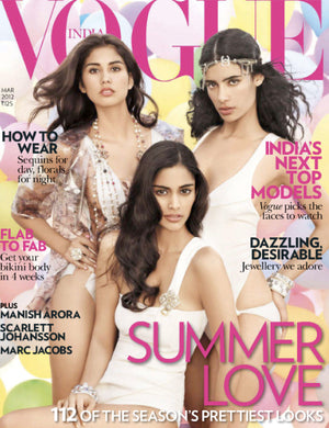 Thank You Vogue Magazine India, featuring #mimiplange
