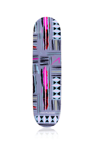 'Kente Brush' Art Skate Deck - Mimi Plange