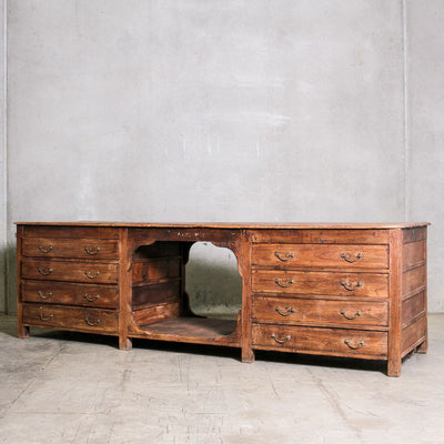 IFU0720-075 Vintage Indian Sideboard