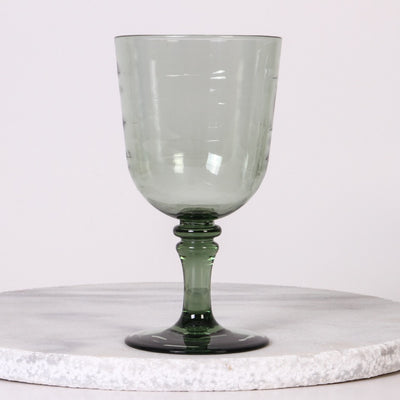 Glamping Acrylic Wine Glass