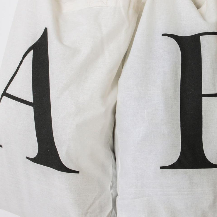 Alphabet Cotton Bag