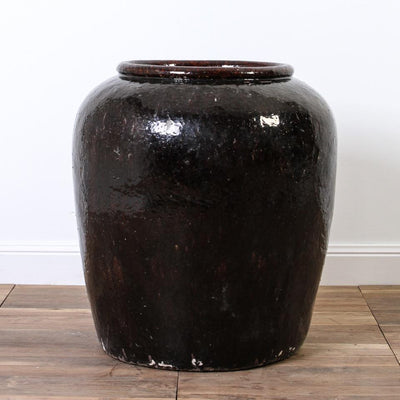 CDE1017-03 Antique Chinese Wine Jar planter