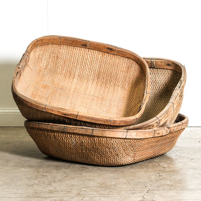 CDE1019-18 Vintage Chinese Basket