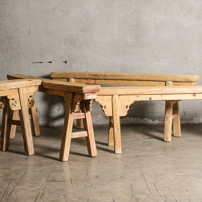 CFU0820-01 Chinese Elm Bench