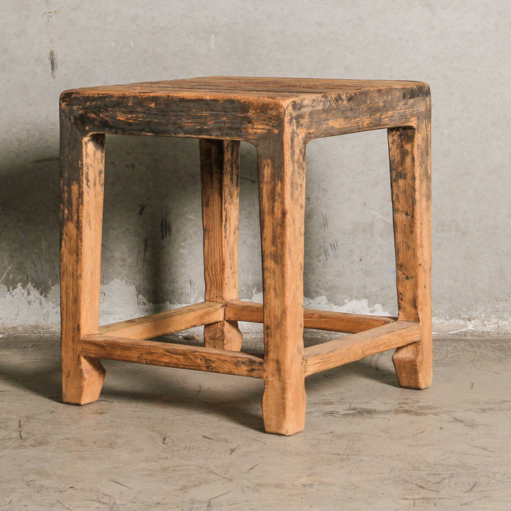 CFU0820-02 Square Chinese Stool