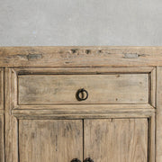 CFU0820-08 Antique Chinese 3 Drawer 6 Door Cabinet