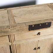 CFU0820-13 A Antique Chinese 3 Drawer 6 Door Cabinet