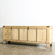 CFU1019-02 Chinese Antique 4 Door Sideboard
