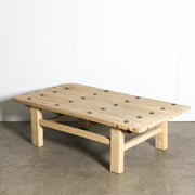 CFU1019-40 H Chinese Elm Old Door Coffee Table