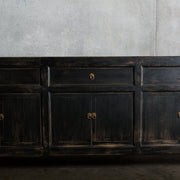 CFU1020-23 Antique Chinese 3 Drawer 6 Door Cabinet