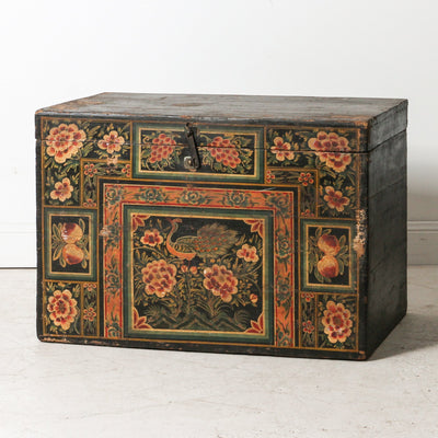 CFU1118-21 Old Chinese Painted Box
