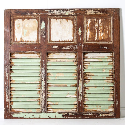 IAE0719-01 A Vintage Indian Shutters (3 panel)