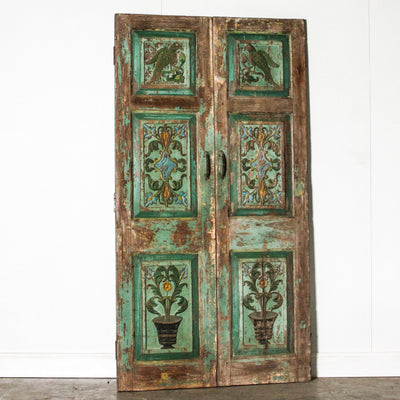 IAE1119-05 Vintage Indian Doors - pair