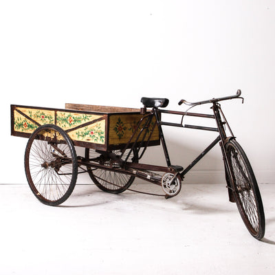 IDE0119-05 Vintage Indian Pushpak Cart