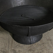 IDE0121-04 Iron Kadai Firepit with Grill