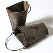 IDE0519-15 Indian Half Round Iron Bucket