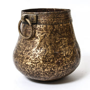 IDE0618-24 Indian Brass Pot