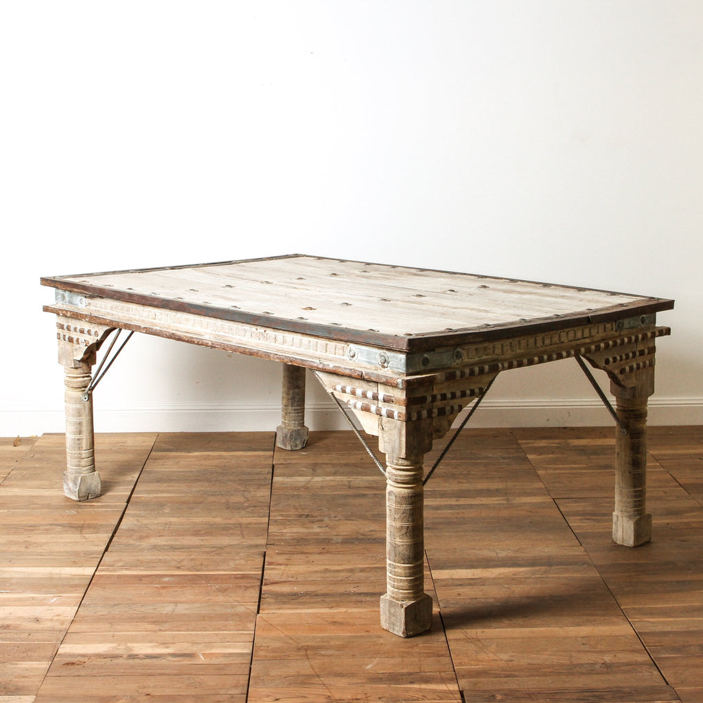 IFU0118-25 Vintage Indian Table
