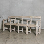 IFU0121-06 Vintage Indian Bench