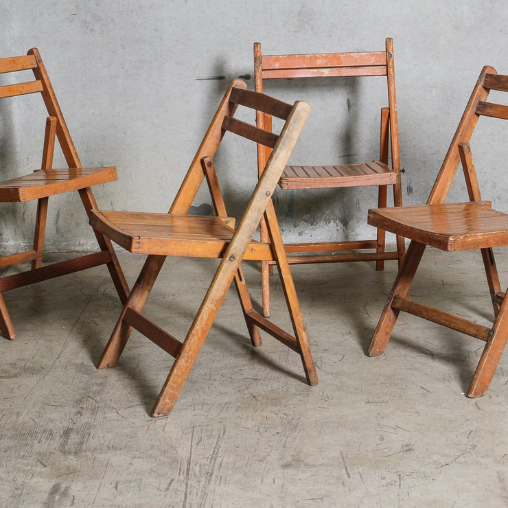 IFU0121-61 Vintage Indian Folding Chair
