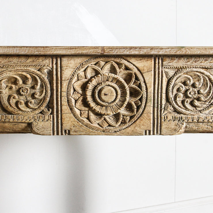 IFU0320-44 Indian Old Panel Console