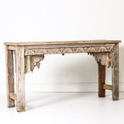 IFU0719-04 Indian Old Panel Console