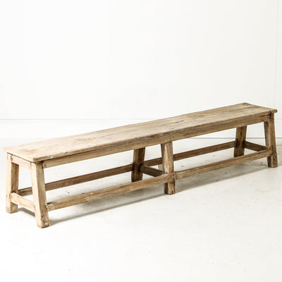 IFU0719-35 Vintage Indian Bench