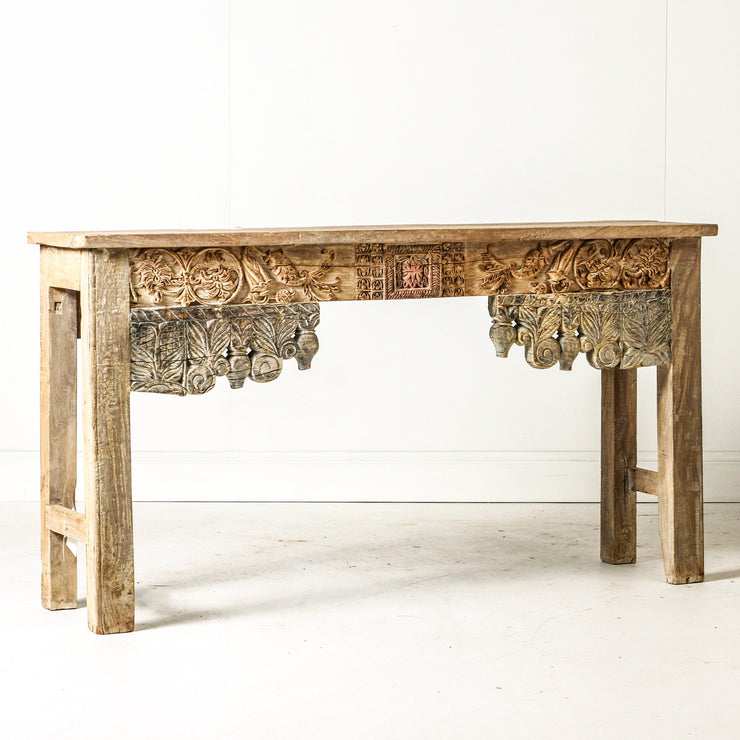 IFU0719-40 Indian Old Panel Console