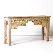 IFU0719-41 Indian Old Panel Console