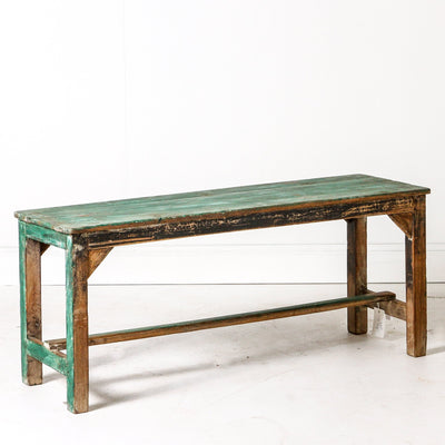 IFU0719-83 Vintage Indian Bench
