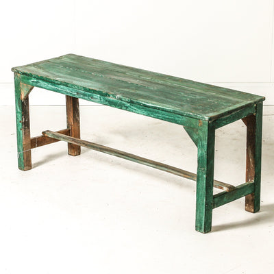 IFU0719-84 Vintage Indian Bench