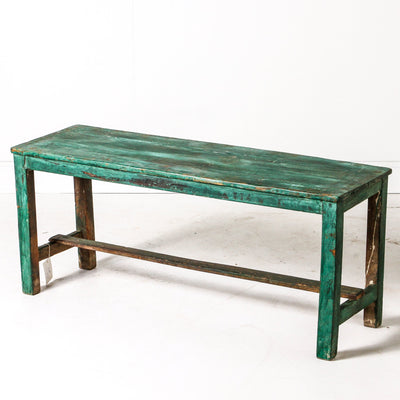 IFU0719-86 Vintage Indian Bench
