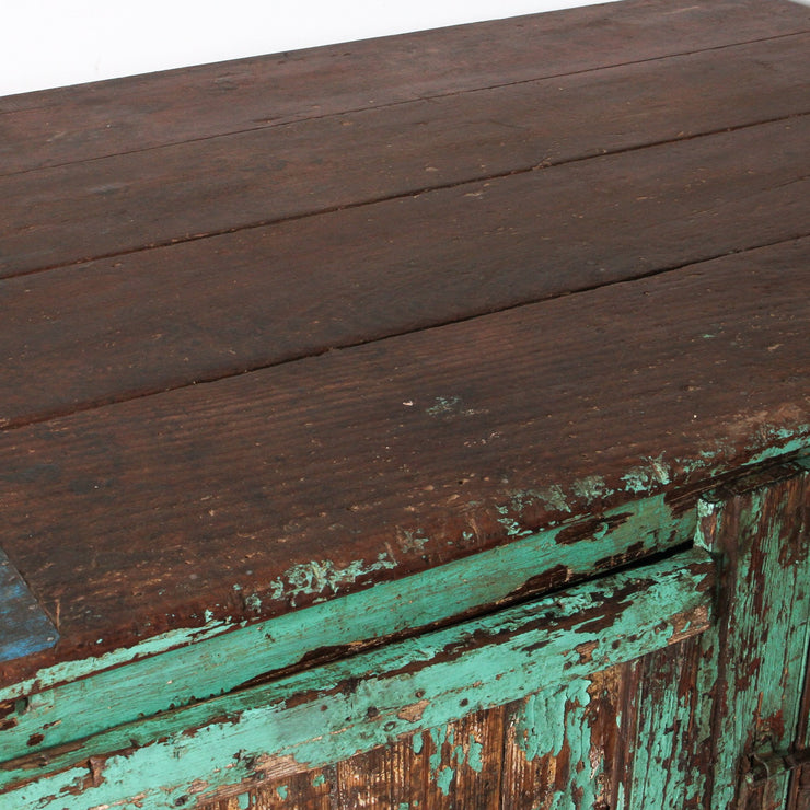 IFU0818-45 Vintage Indian Wooden Chest