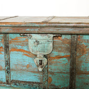 IFU0819-24 Vintage Indian Chest Coffee Table