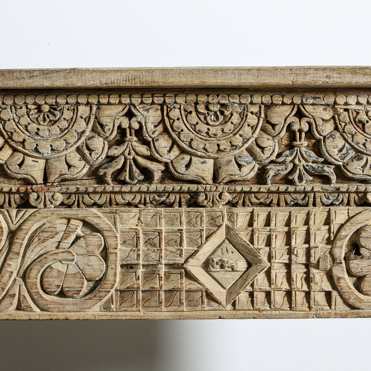 IFU0920-39 Vintage Indian Panel Console