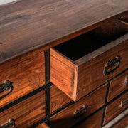 IFU1119-43 Vintage Indian 28 Drawer Cabinet
