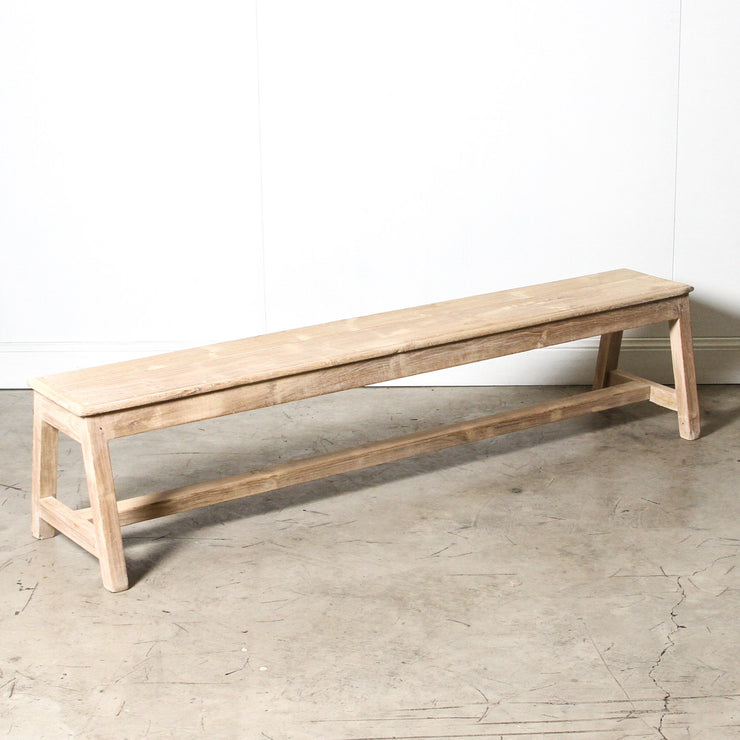 IFU1119-48 Vintage Indian Bench