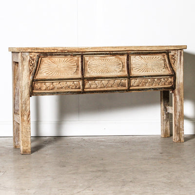 IFU1119-58 Indian Old Panel Console