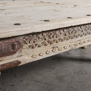 IFU1220-09 A Vintage Indian Coffee Table