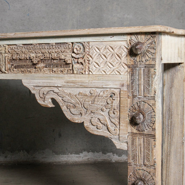 IFU1220-33 Vintage Indian Panel Console