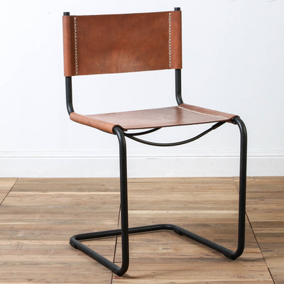 Poise Leather Dining Chair