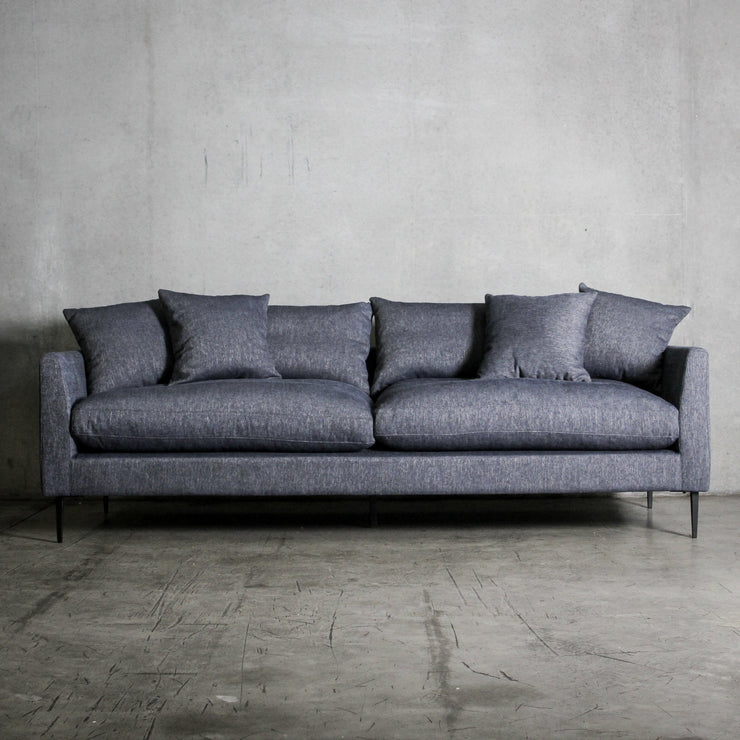 Manhattan 3.5 Seater Sofa - Denim