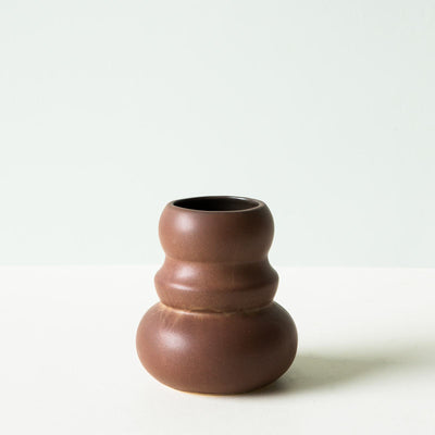 Klein Vase - Brown Red - Small