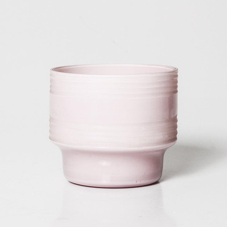 Leia Glass Votive - Blush - Medium