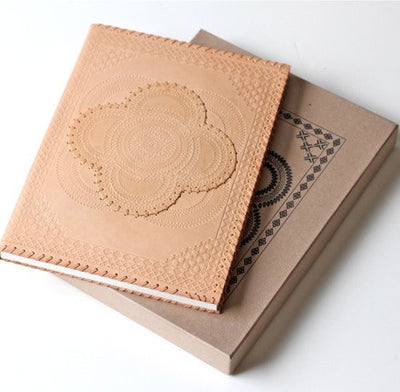 Large Tan Leather Journal