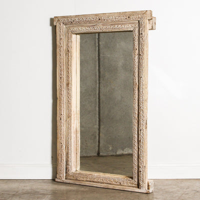 IMIR0120-02 Old Indian Door Frame Mirror